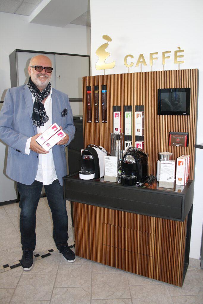 Gastromatic: Ècaffè ist ein fixer Bestandteil in seinem Geschäft.