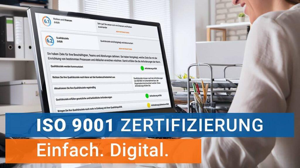 ISO-Zertifizierung: Einfach und Digital