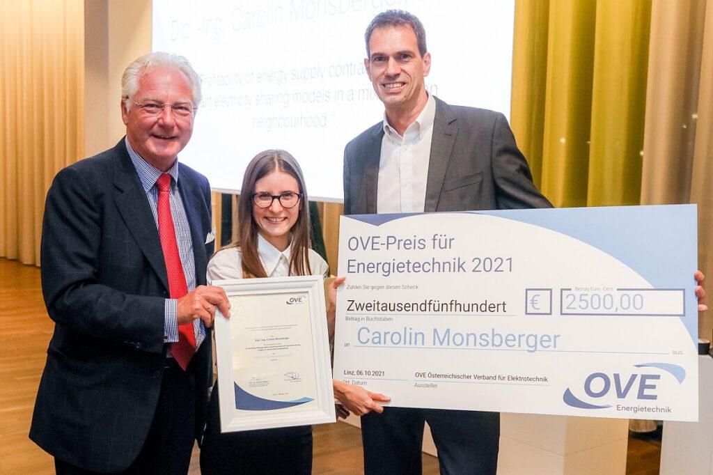 OVE-Energietechnik Preisträgerin